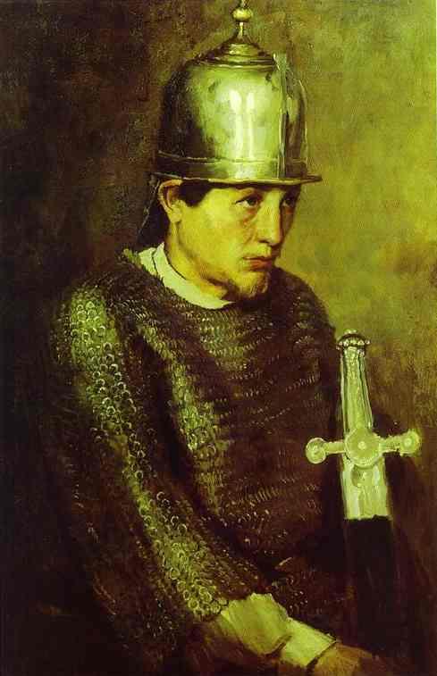 Knight 1883 | Victor Vasnetsov | oil painting