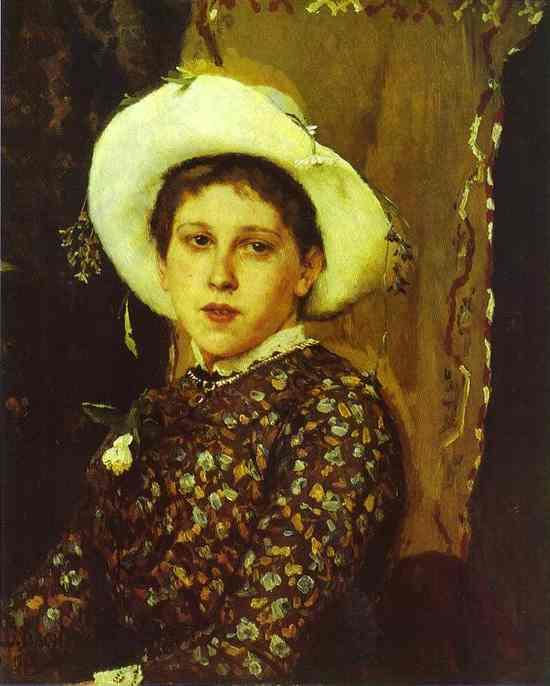 Portrait Of Tatyana Mamontova 1884 | Victor Vasnetsov | oil painting