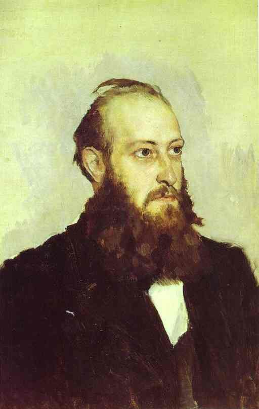 Portrait Of Victor Goshkevich The Founder Of The Historic Aarchaeological Museum In Kherson 1887 | Victor Vasnetsov | oil painting