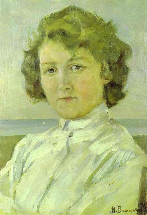Princess Olga 1885-96 | Victor Vasnetsov | oil painting