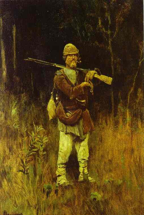 Savka The Hunter 1889 | Victor Vasnetsov | oil painting