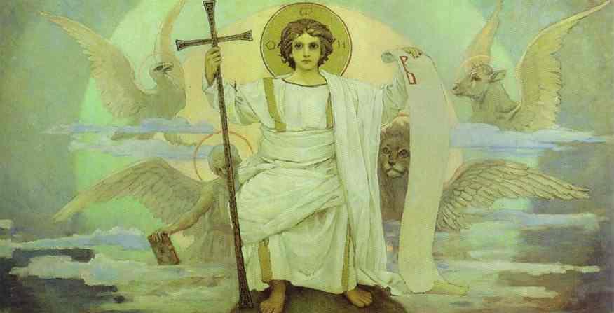 Sketch 1885-96 | Victor Vasnetsov | oil painting