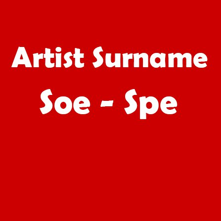 Soe - Spe
