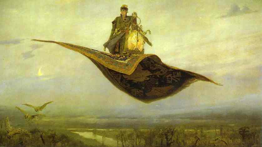 The Magic Carpet 1880 | Victor Vasnetsov | oil painting