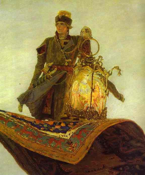 The Magic Carpet Detail 1880 | Victor Vasnetsov | oil painting