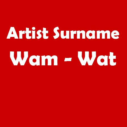 Wam - Wat