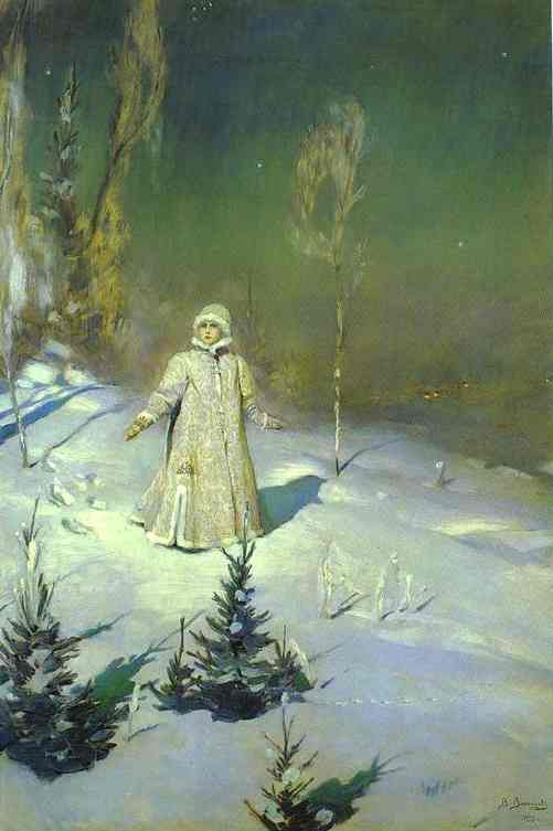 The Snow Maiden 1899 | Victor Vasnetsov | oil painting