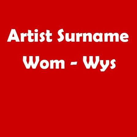 Wom - Wys