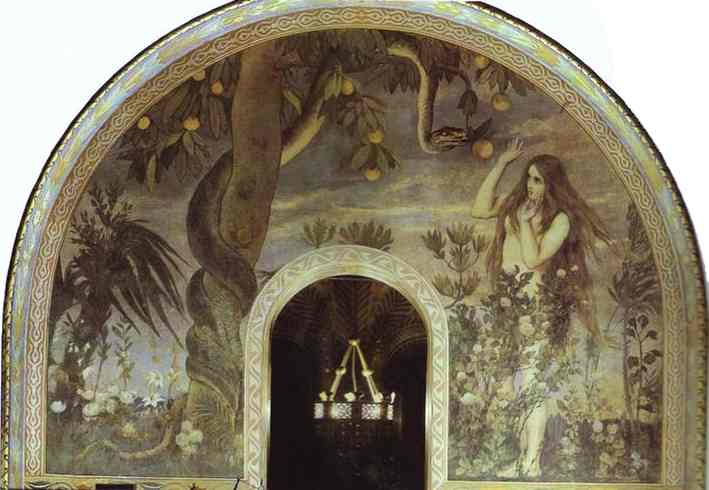 The Temptation 1885-96 | Victor Vasnetsov | oil painting