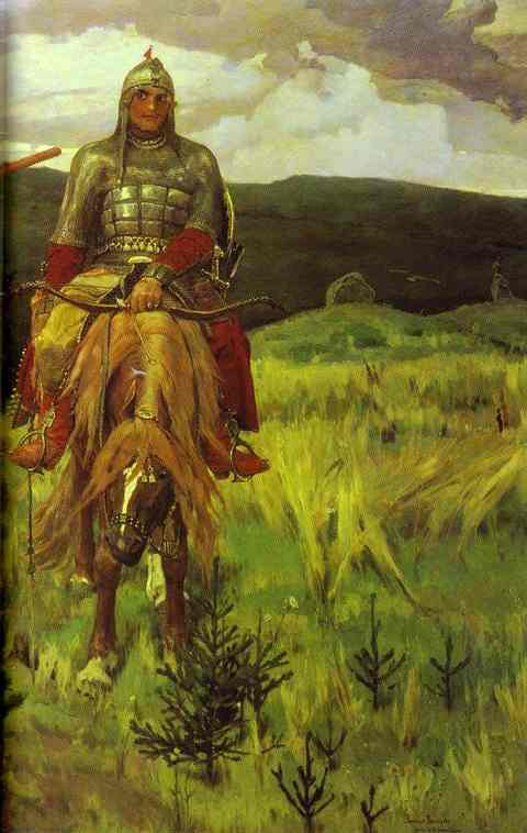 Tree Bogatyrs 1898 | Victor Vasnetsov | oil painting