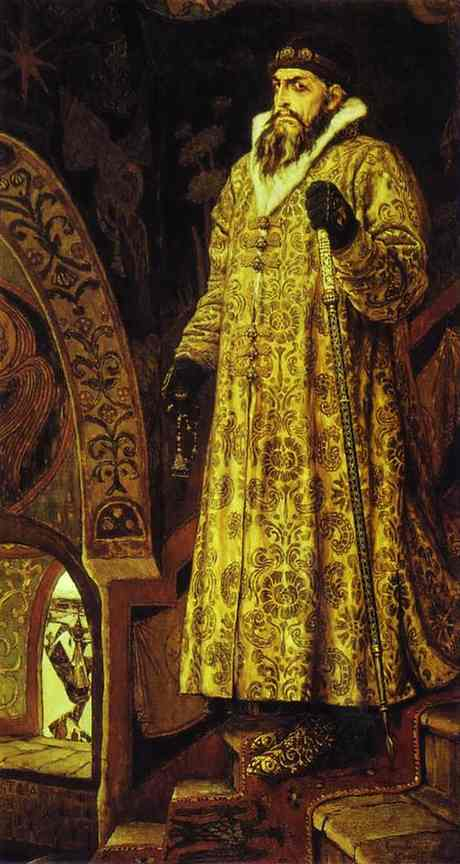 Tsar Ivan Iv The Terrible 1897 | Victor Vasnetsov | oil painting