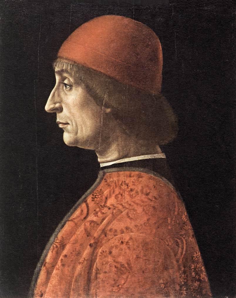 Portrait Of Francesco Brivio | Vincenzo Foppa | oil painting