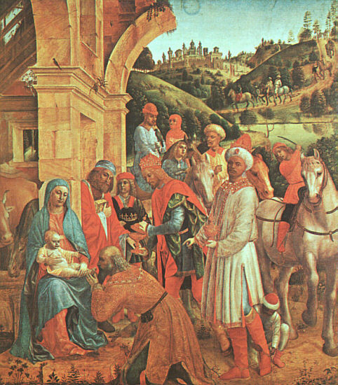 The Adoration Of The Kings 1500-10 | Vincenzo Foppa | oil painting