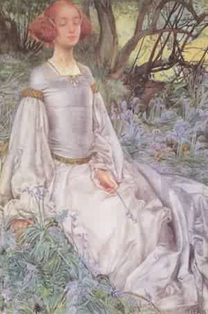 In The Spring Time 1901 | Vincenzo Foppa | oil painting
