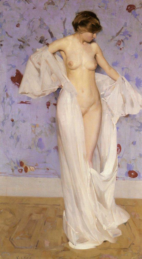 Nu | Virgil Constantini | oil painting