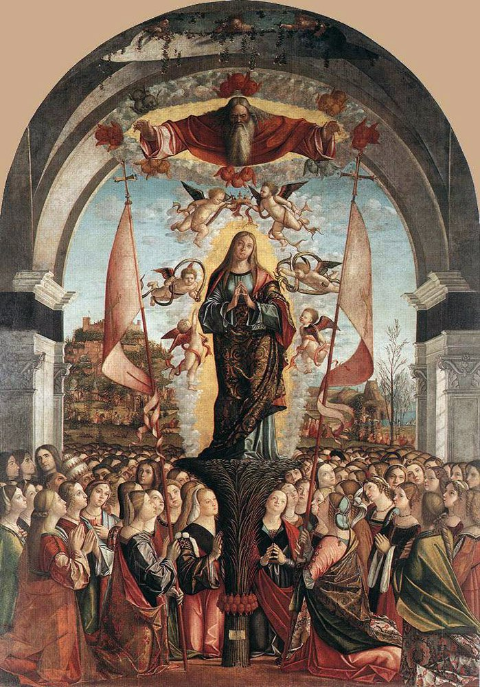 Apotheosis of St Ursula | Vittore Carpaccio | oil painting