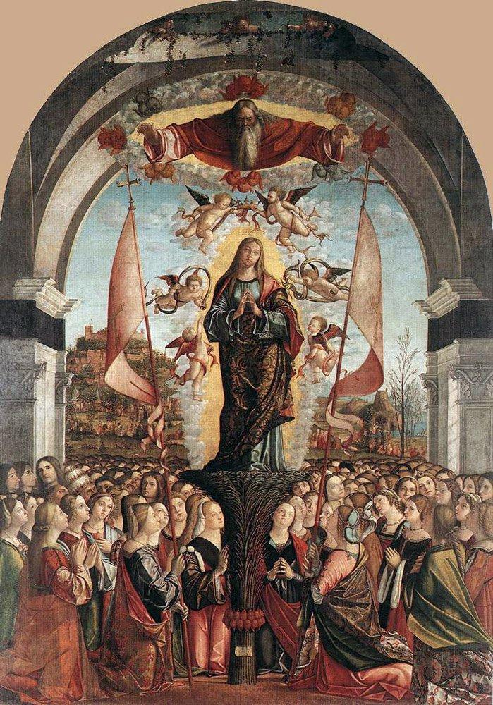 Apotheosis of St Ursula   Vittore Carpaccio   oil painting