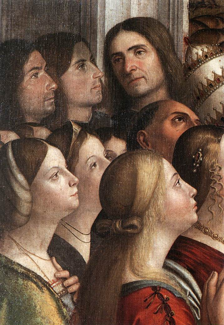 Carpaccio Apotheosis of St Ursula detail1   Vittore Carpaccio   oil painting