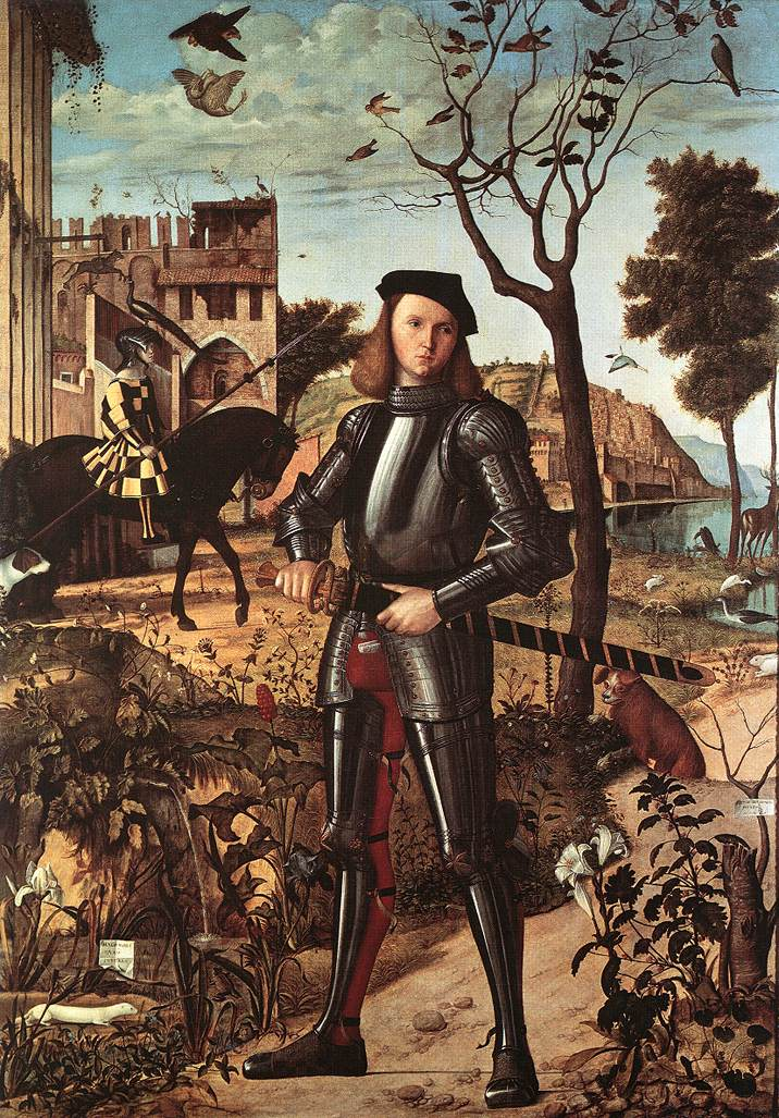 Carpaccio Portrait of a Knight | Vittore Carpaccio | oil painting