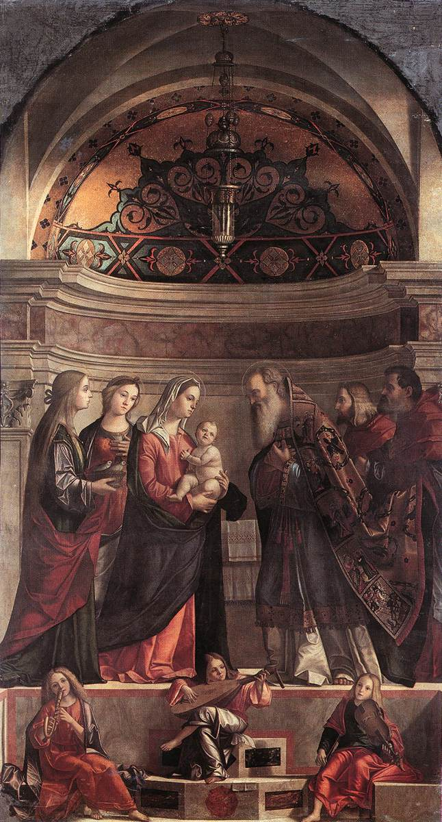Carpaccio Presentation of Jesus in the Temple | Vittore Carpaccio | oil painting