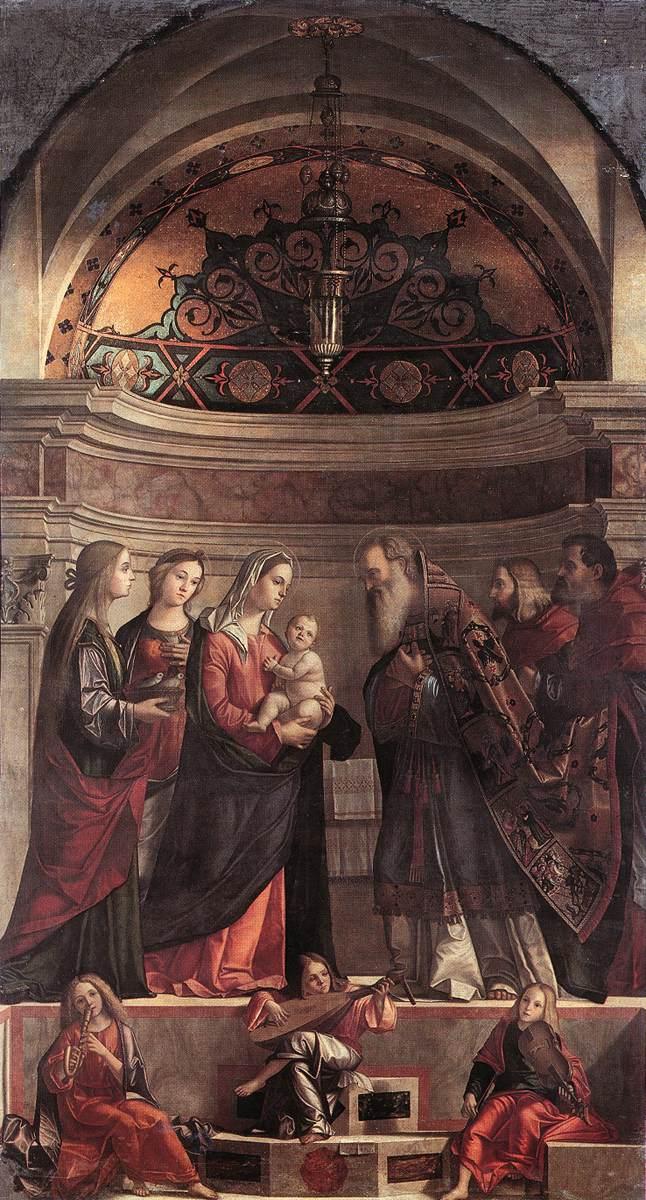 Carpaccio Presentation of Jesus in the Temple   Vittore Carpaccio   oil painting