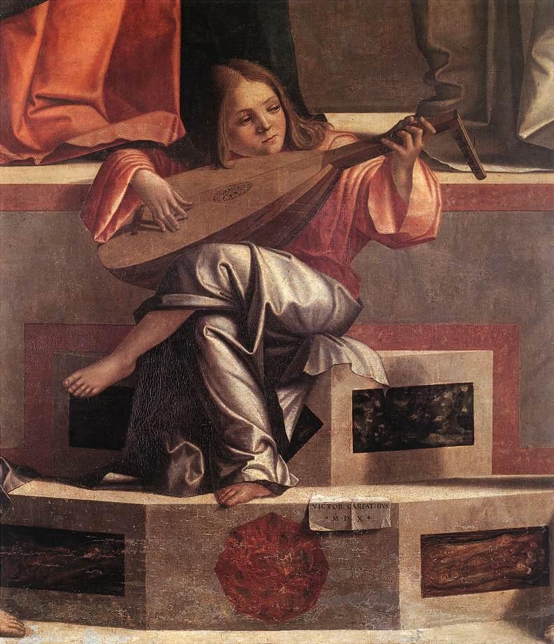 Carpaccio Presentation of Jesus in the Temple detail   Vittore Carpaccio   oil painting