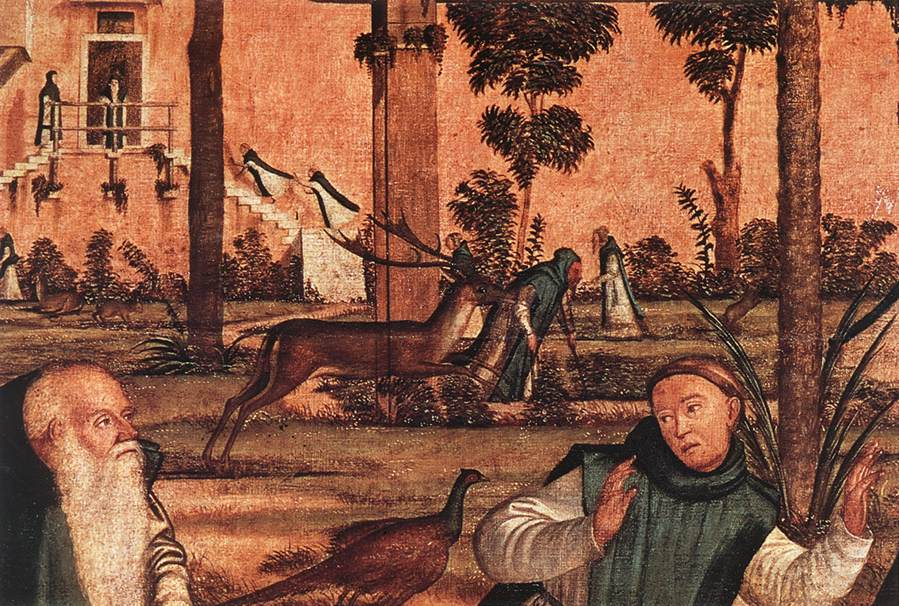Carpaccio St Jerome and the Lion detail1   Vittore Carpaccio   oil painting