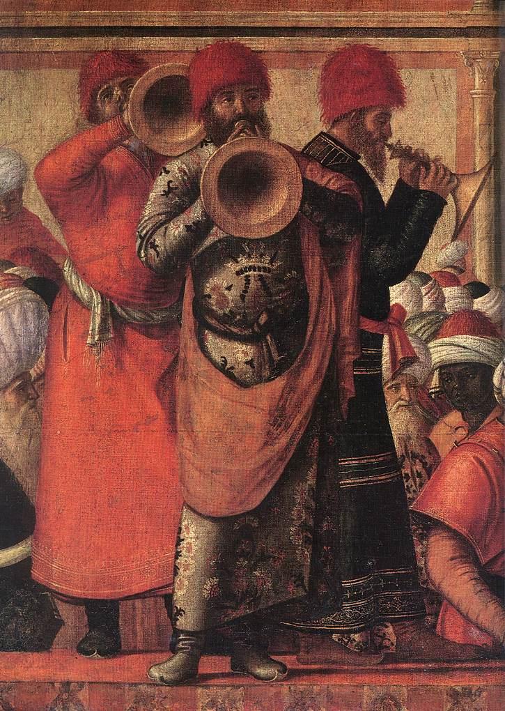 Carpaccio The Baptism of the Selenites detail1 | Vittore Carpaccio | oil painting