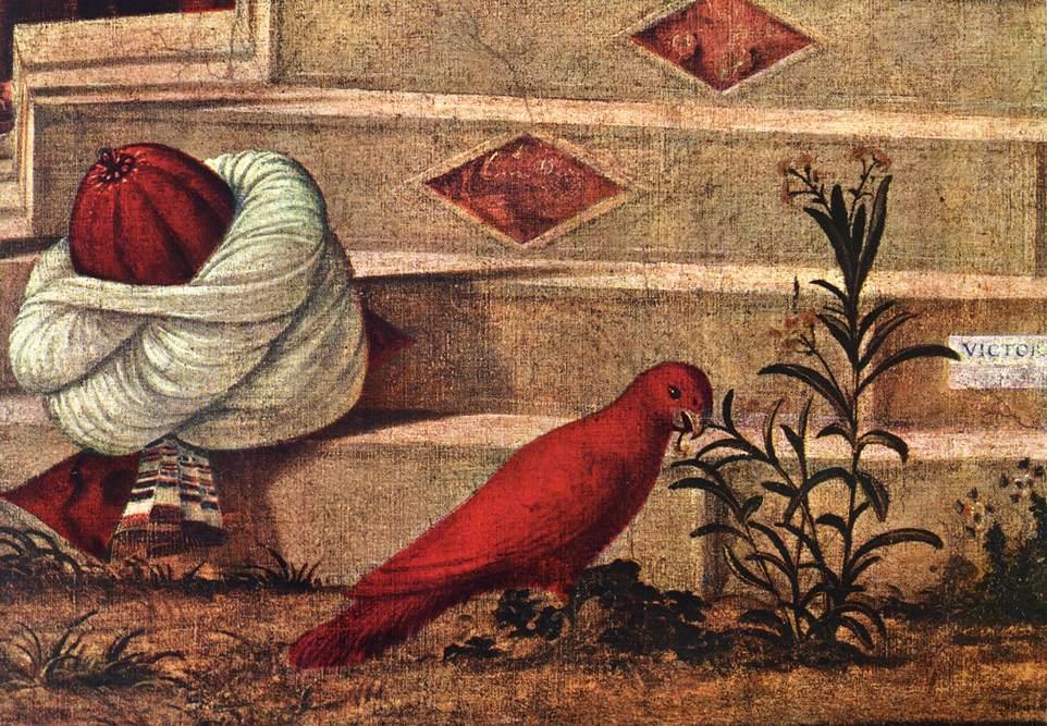 Carpaccio The Baptism of the Selenites detail2   Vittore Carpaccio   oil painting
