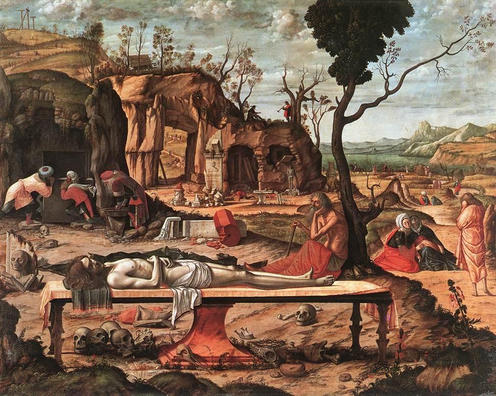 Carpaccio The Dead Christ   Vittore Carpaccio   oil painting