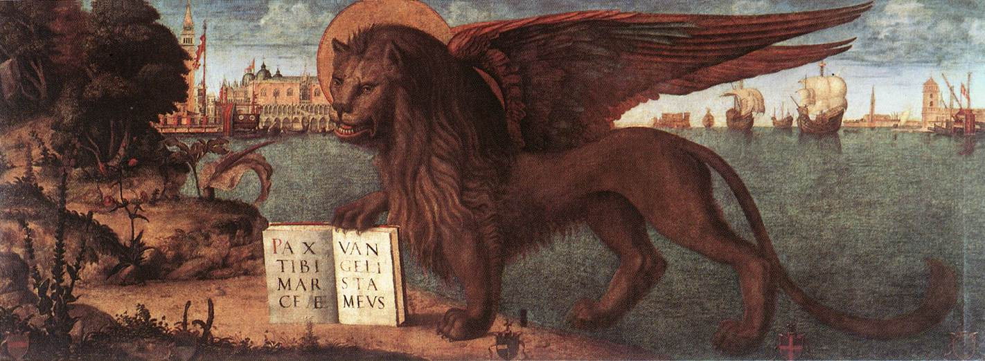Carpaccio The Lion of St Mark | Vittore Carpaccio | oil painting