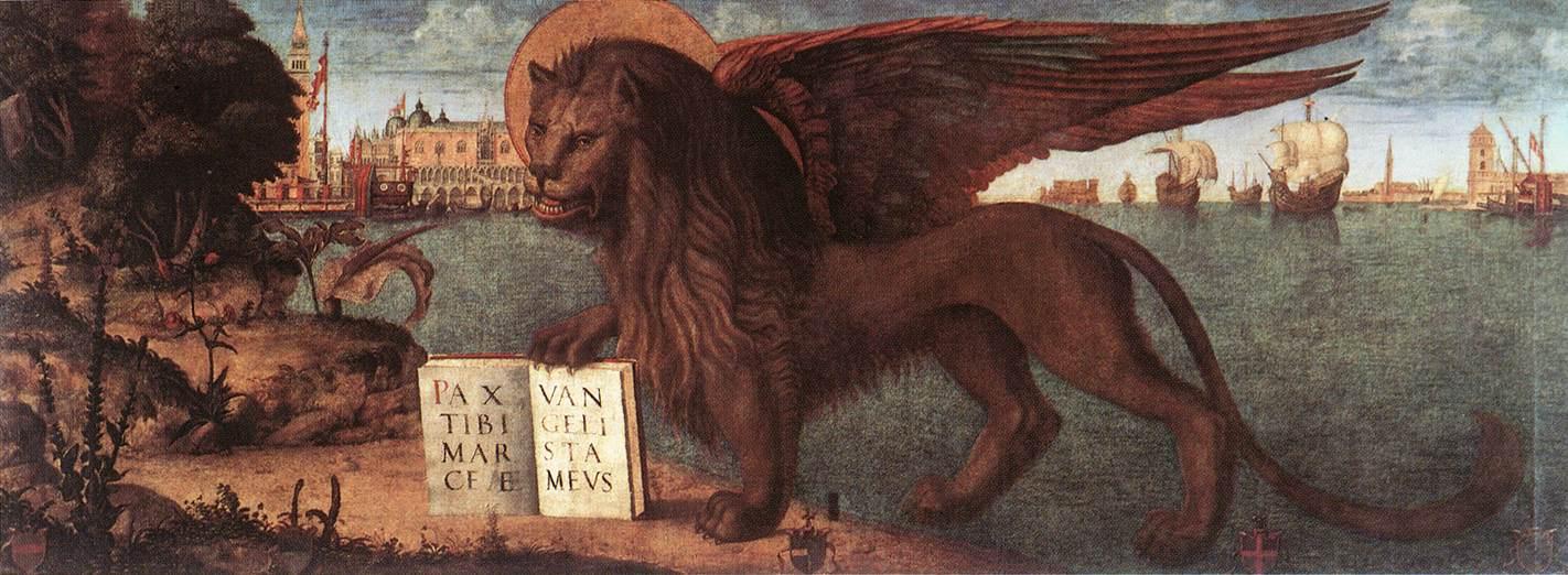 Carpaccio The Lion of St Mark   Vittore Carpaccio   oil painting