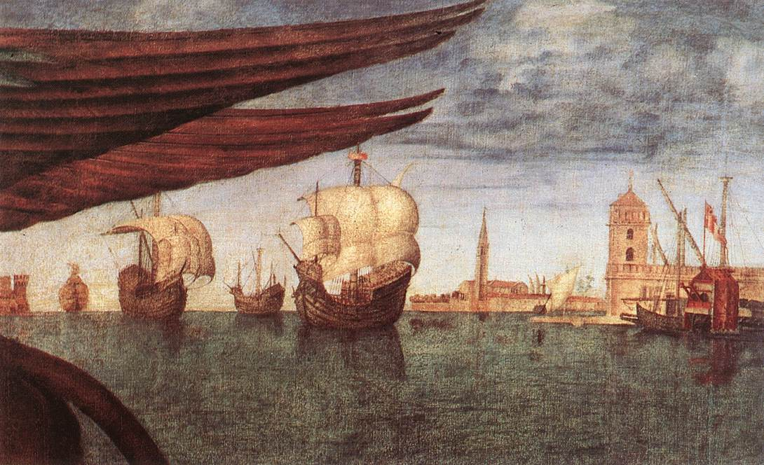 Carpaccio The Lion of St Mark detail2 | Vittore Carpaccio | oil painting