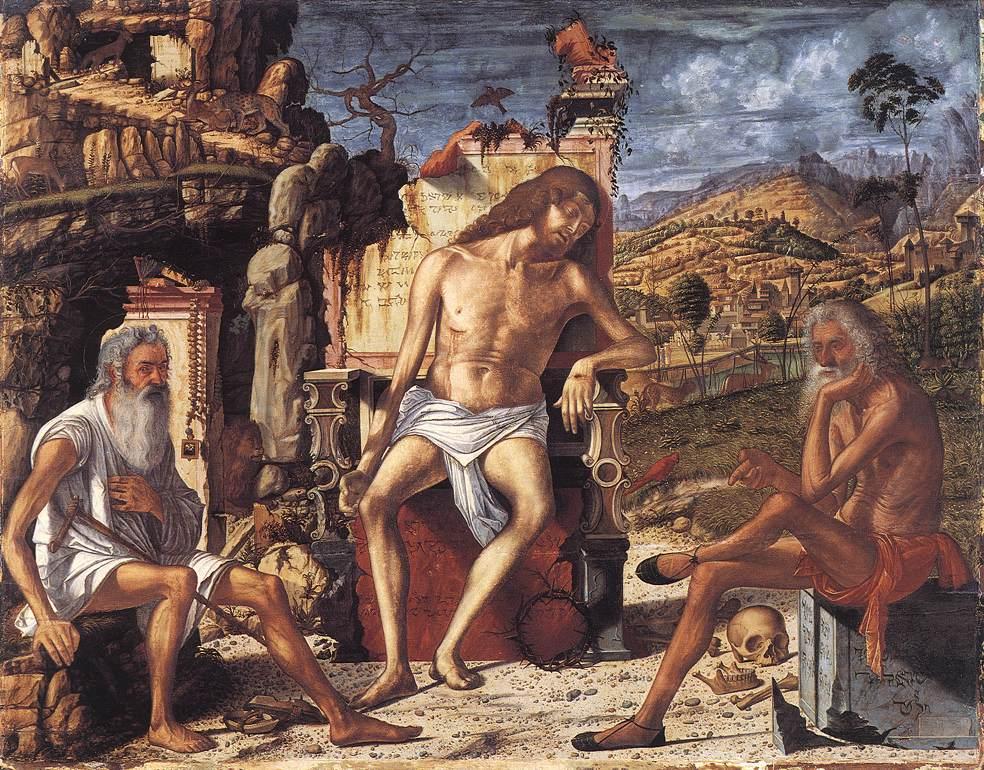 Carpaccio The Meditation on the Passion | Vittore Carpaccio | oil painting
