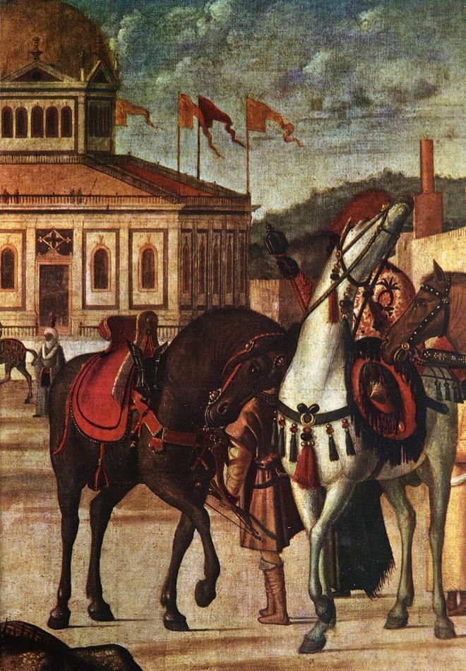 Carpaccio The Triumph of St George detail1 | Vittore Carpaccio | oil painting