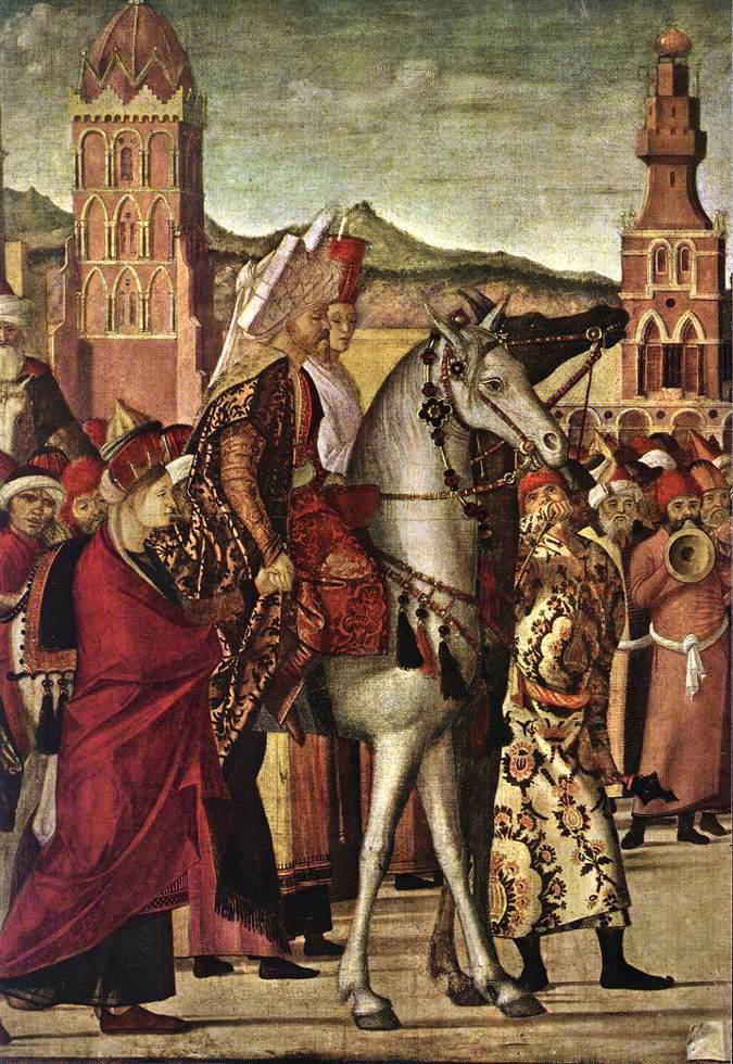 Carpaccio The Triumph of St George detail2 | Vittore Carpaccio | oil painting