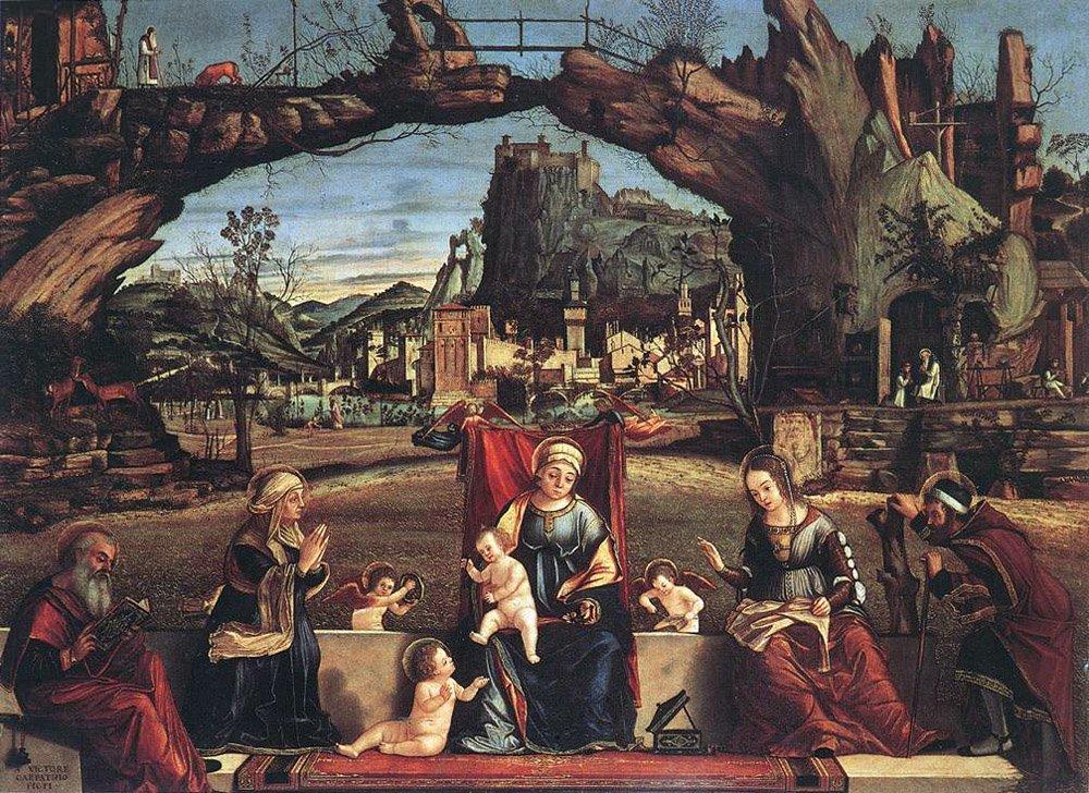 Holy Conversation | Vittore Carpaccio | oil painting