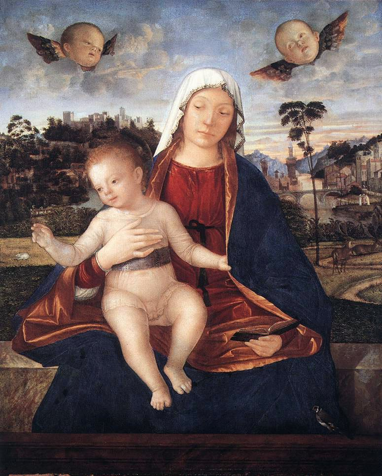 Madonna and Blessing Child | Vittore Carpaccio | oil painting