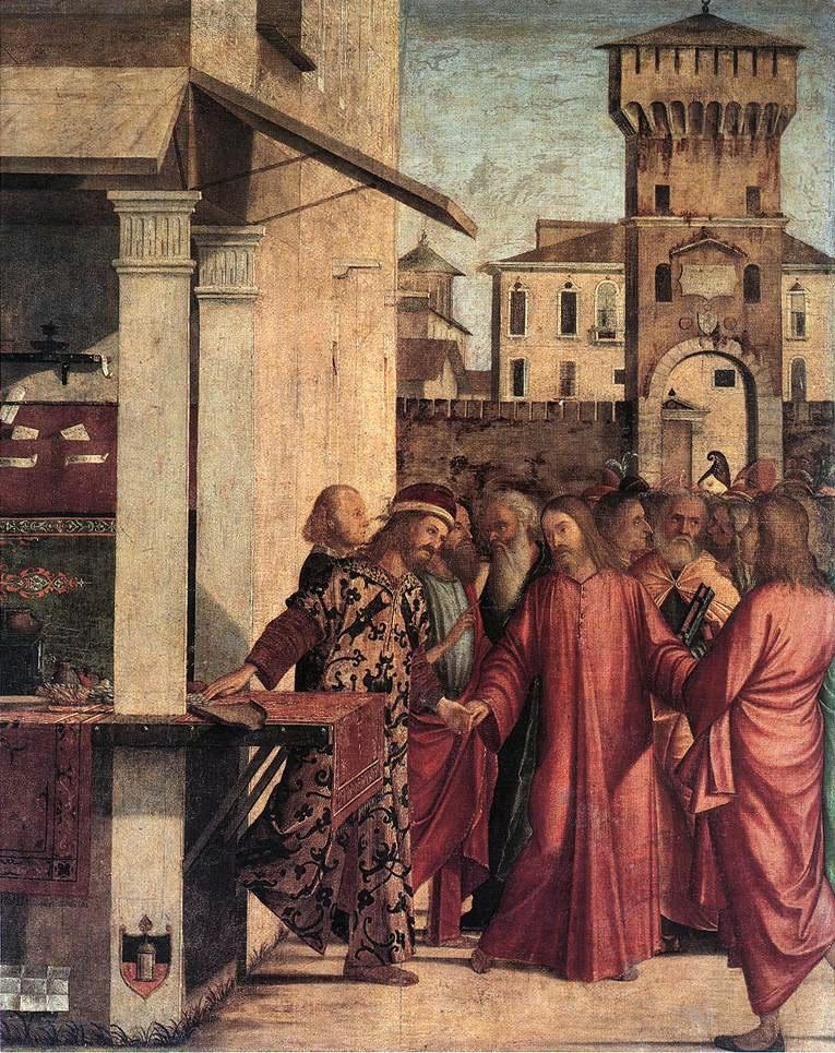 The Calling of Matthew | Vittore Carpaccio | oil painting