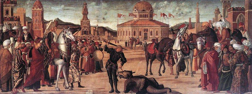 The Triumph of St George | Vittore Carpaccio | oil painting