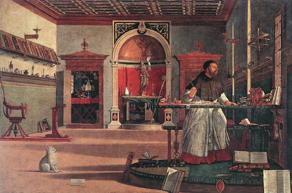 Vision of St Augustin | Vittore Carpaccio | oil painting