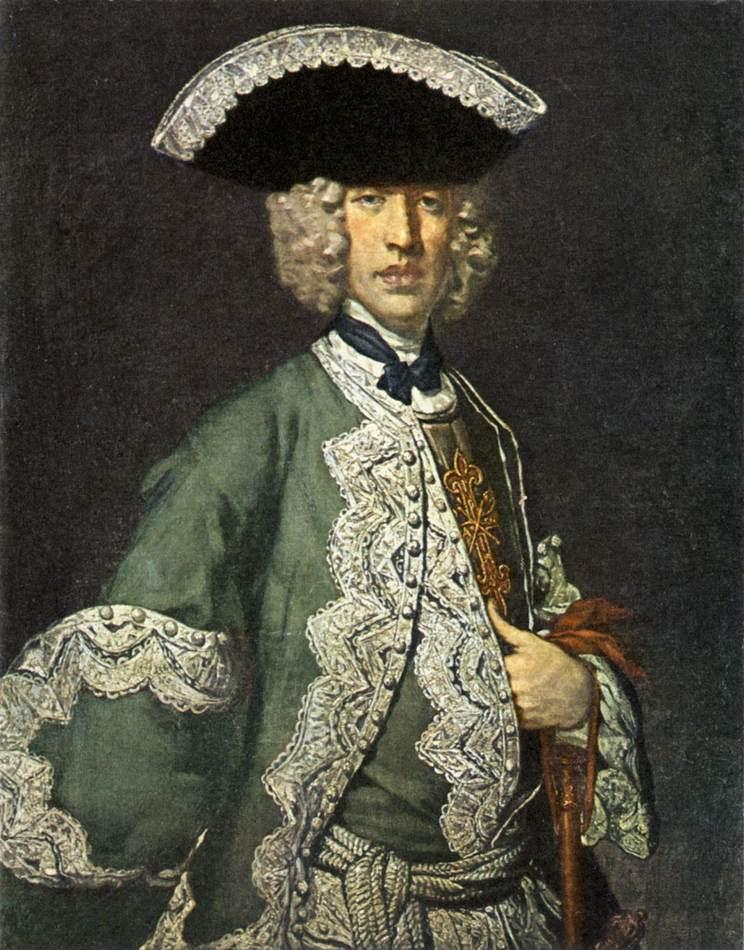 Portrait Of A Gentleman 1730 | Vittore Ghislandi | oil painting
