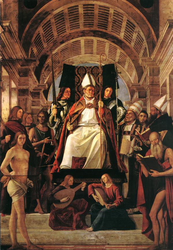 Altarpiece Of St Ambrose 1503 | Vivarini | oil painting