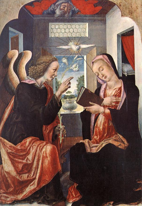 Annunciation | Vivarini | oil painting