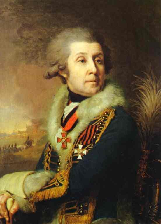 Portrait Of F A Borovsky 1799 | Vladimir Borovikovsky | oil painting