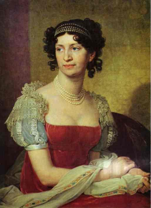 Portrait Of Princess M I Dolgorukaya 1811 | Vladimir Borovikovsky | oil painting