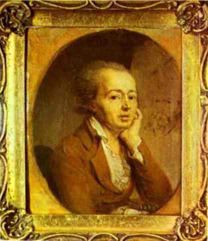 Portrait Of The Artist Dmitry Levitzky 1796 | Vladimir Borovikovsky | oil painting