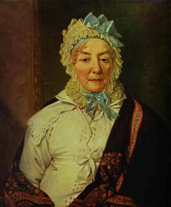 Portrait Of Ye A Arkharova 1820 | Vladimir Borovikovsky | oil painting