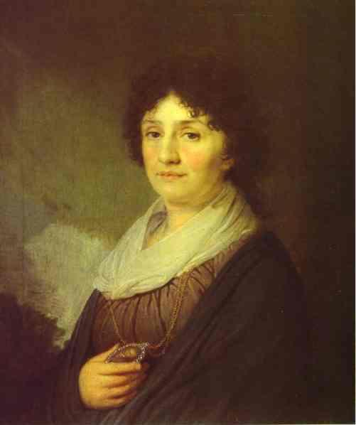 Portrait Of E N Davydova 1796 | Vladimir Borovikovsky | oil painting