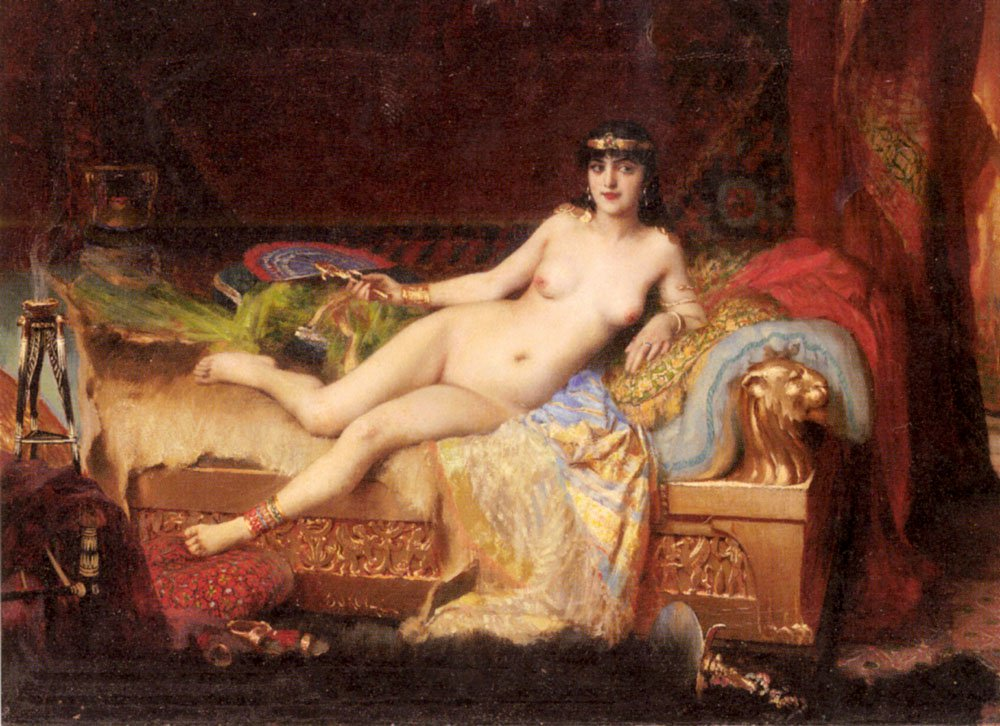 The Pharaohs Favorite | Vlancho Bukovac | oil painting